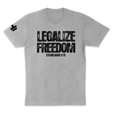 Legalize Freedom Black Print Mens Apparel