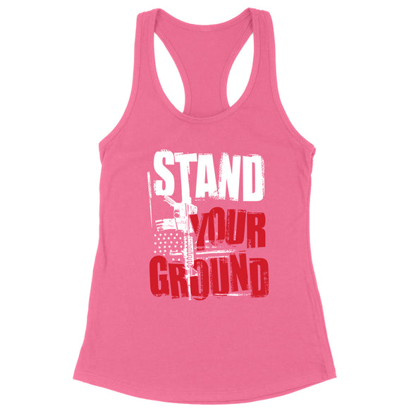 Stand Your Ground Womens Apparel
