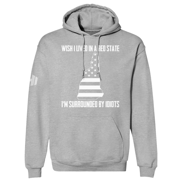 Wish I Lived In A Red State - New Hampshire Hoodie