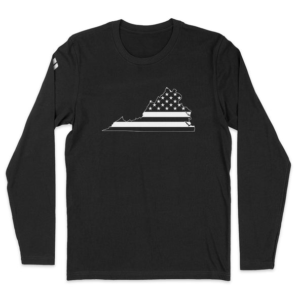 Virginia USA Flag Mens Apparel