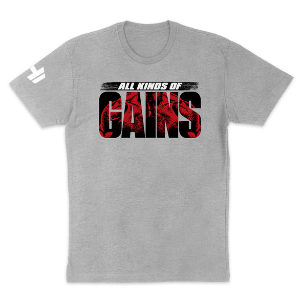 All Kinds Of Gains Red Mens Apparel