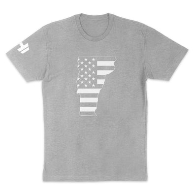 Vermont USA Flag Mens Apparel