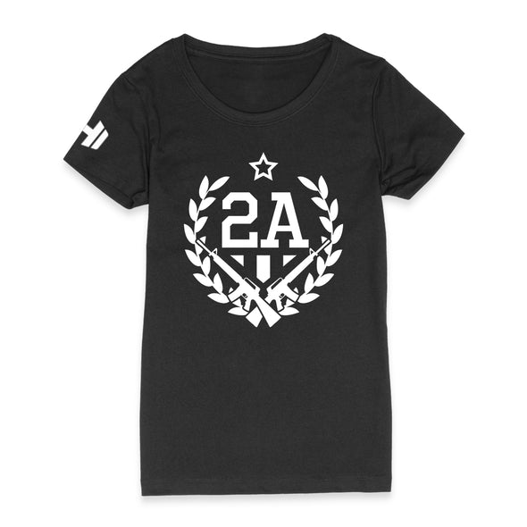 2nd Amendment With Guns Womens Apparel