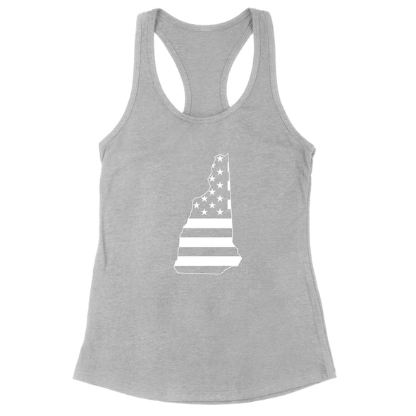 New Hampshire USA Flag Womens Apparel