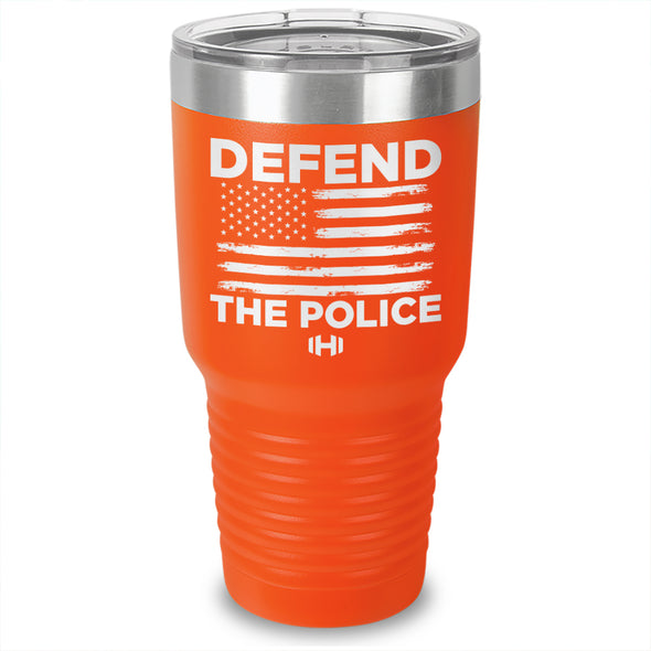 Defend The Police Laser Etched Tumbler