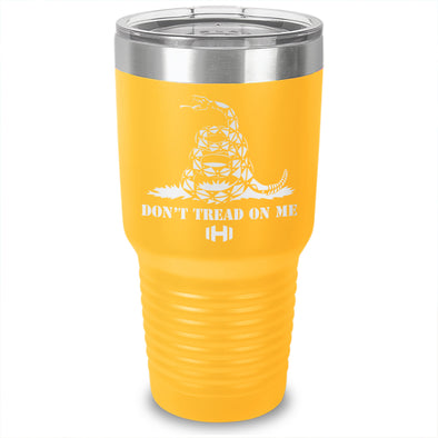 Don't Tread On Me Laser Etched Tumbler
