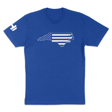 North Carolina USA Flag Mens Apparel