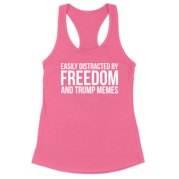 Easily Distracted By Freedom Womens Apparel