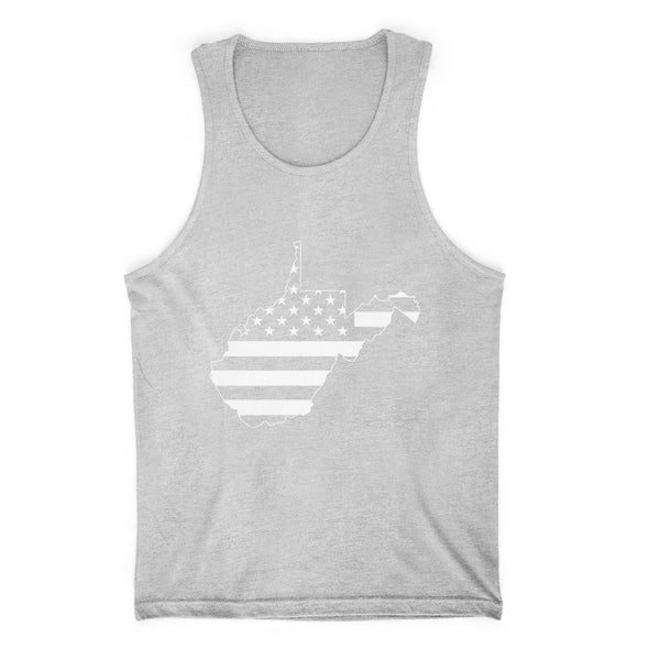 West Virginia USA Flag Mens Apparel