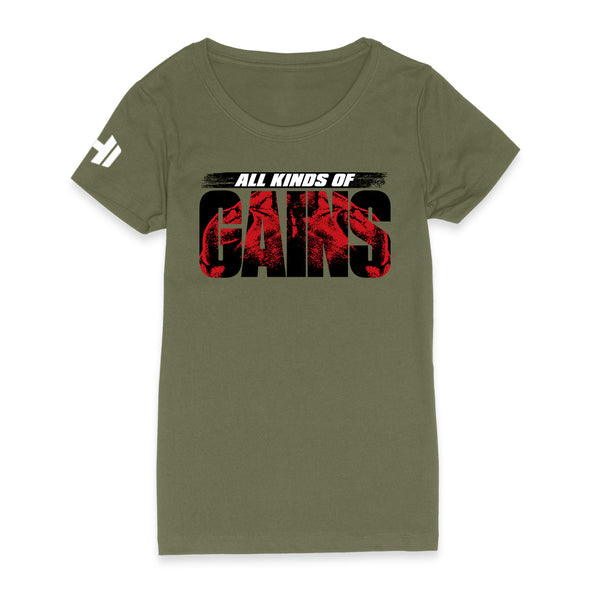 All Kinds Of Gains Red Womens Apparel