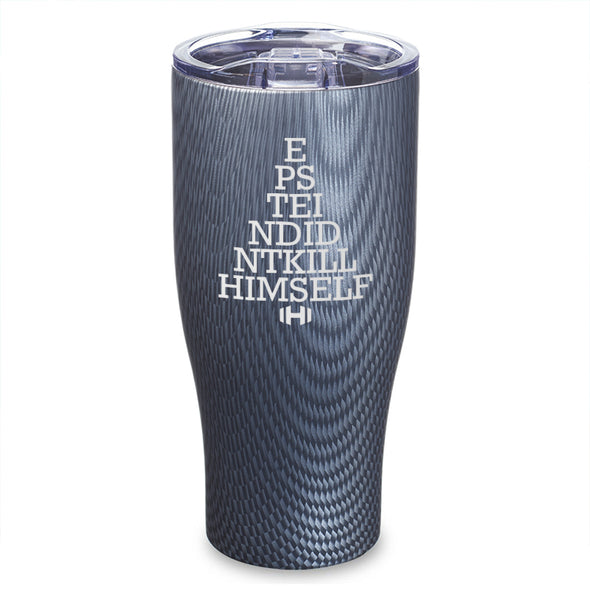 Epstein Eye Test Laser Etched Tumbler
