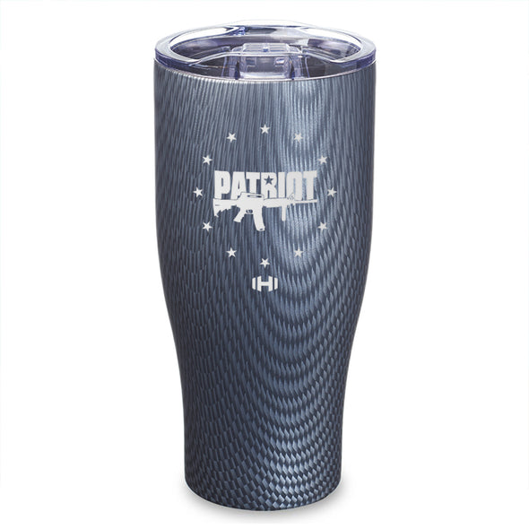 Patriot USA Gun Laser Etched Tumbler