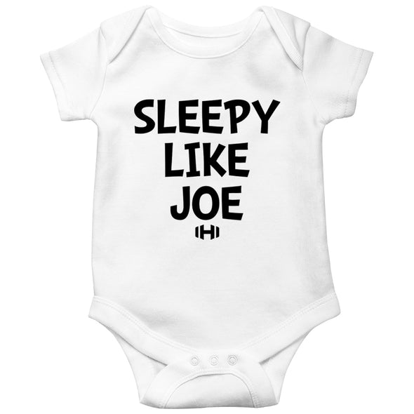 Sleepy Like Joe Baby Onesie