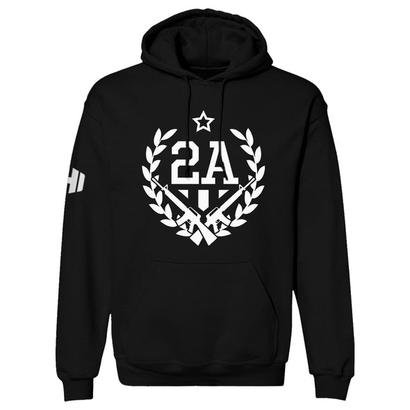 2nd Amendment With Guns Hoodie