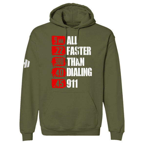 All Faster Than 911 Hoodie