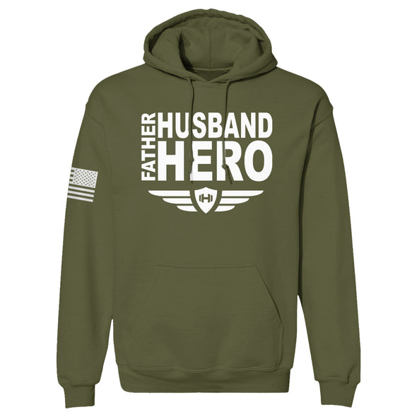 Father Husband Hero Hoodie