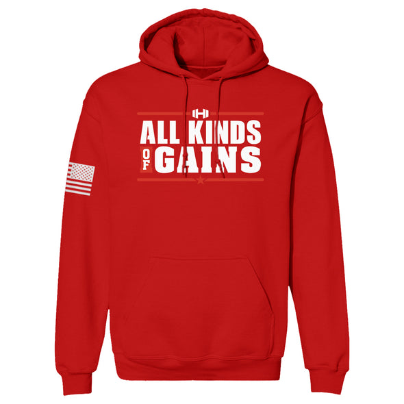 All Kinds Of Gains Color Hoodie
