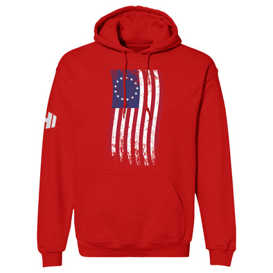 Betsy Ross War Flag Color Hoodie