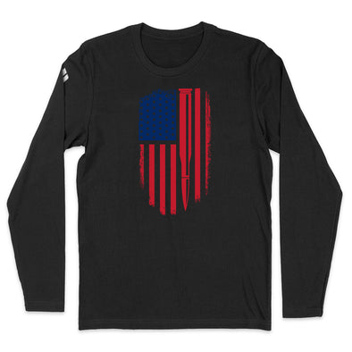 Bullet American Flag Color Mens Apparel