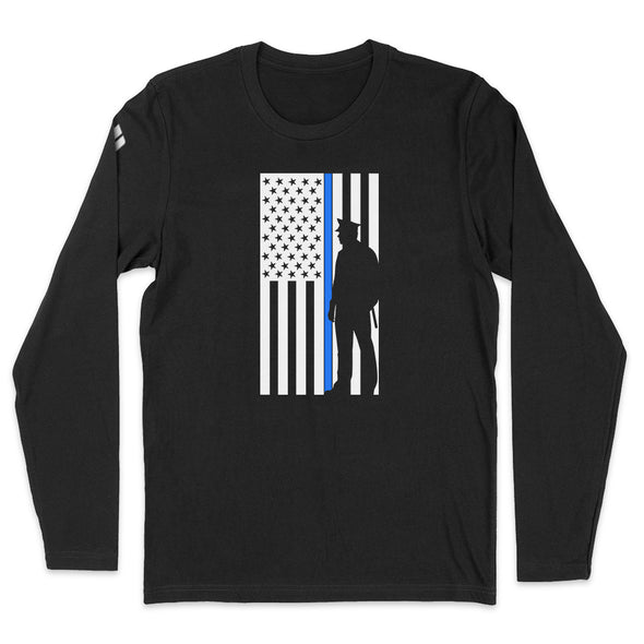 Thin Blue Line Flag Mens Apparel
