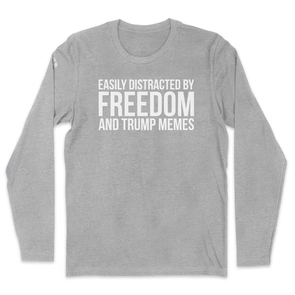 Easily Distracted By Freedom Mens Apparel