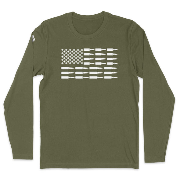 Bullet American Flag Mens Apparel