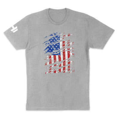USA Flag Color Mens Apparel