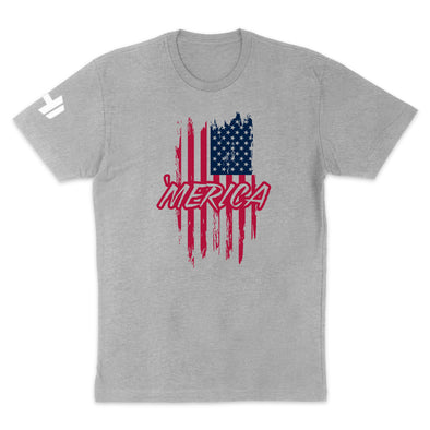 Color Merica Flag Mens Apparel