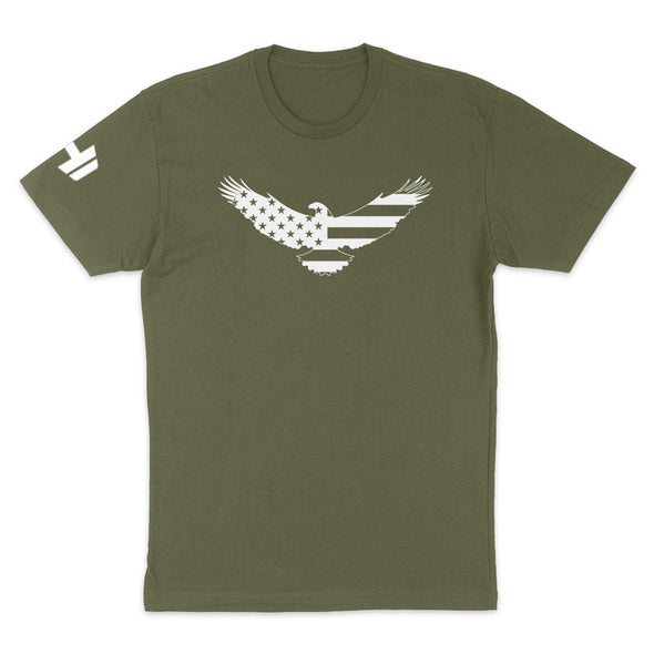 USA Flag Eagle Mens Apparel