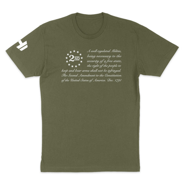 2nd Amendment Flag 1 Mens Apparel