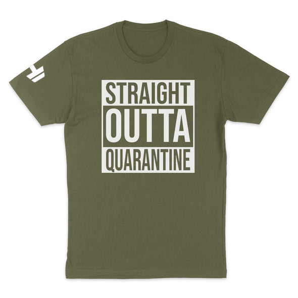 Straight Outta Quarantine Mens Apparel