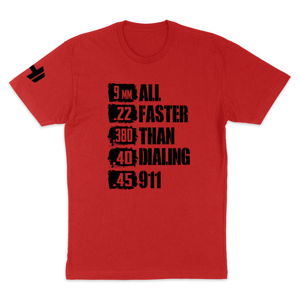 All Faster Than 911 Black Print Mens Apparel