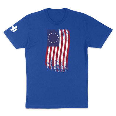 Betsy Ross War Flag Color Mens Apparel