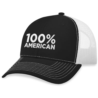 100 Percent American Trucker Hat