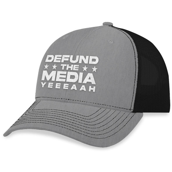 Defund The Media Trucker Hat