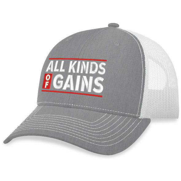 All Kinds Of Gains Trucker Hat