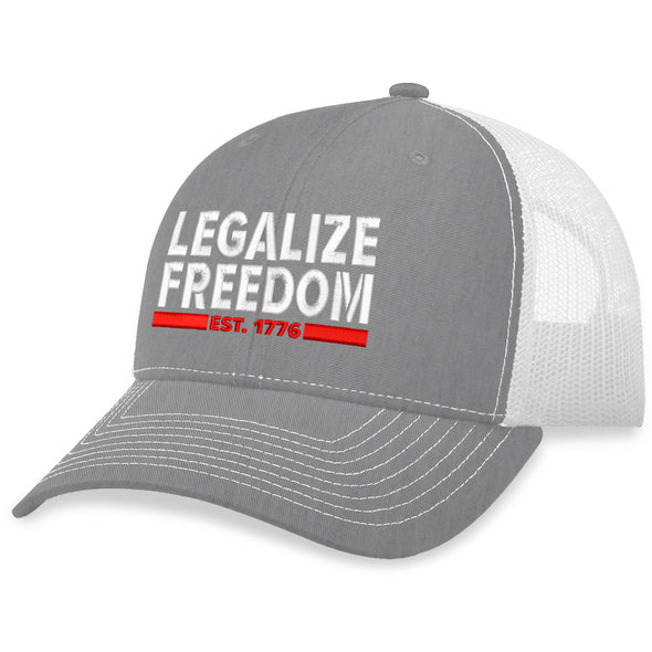 Legalize Freedom Trucker Hat