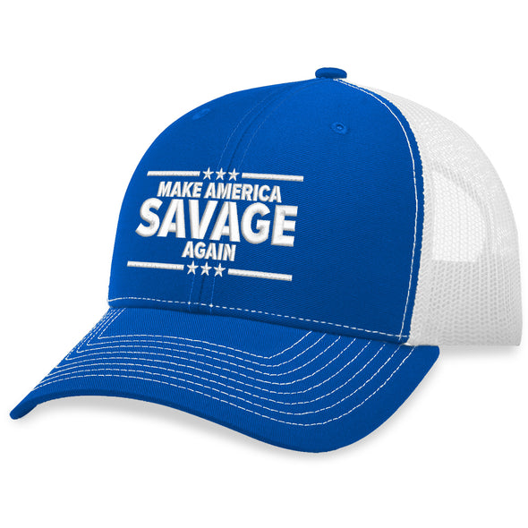 Make America Savage Again Trucker Hat