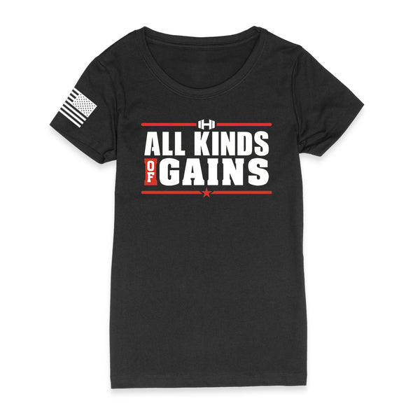 All Kinds Of Gains Color Womens Apparel