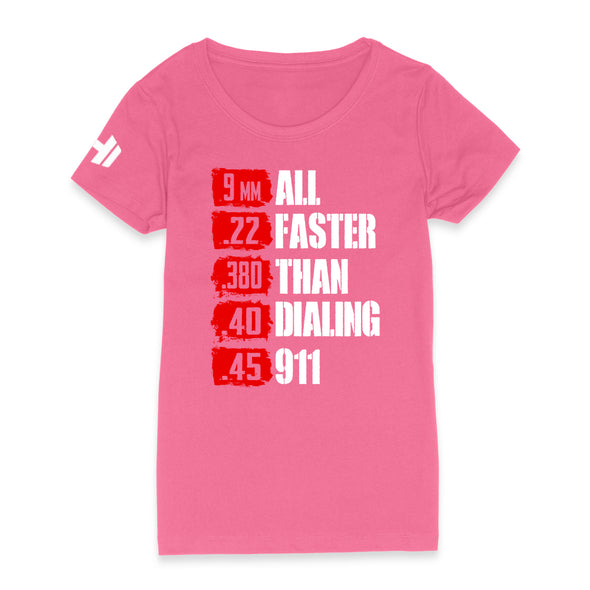 All Faster Than 911 Womens Apparel