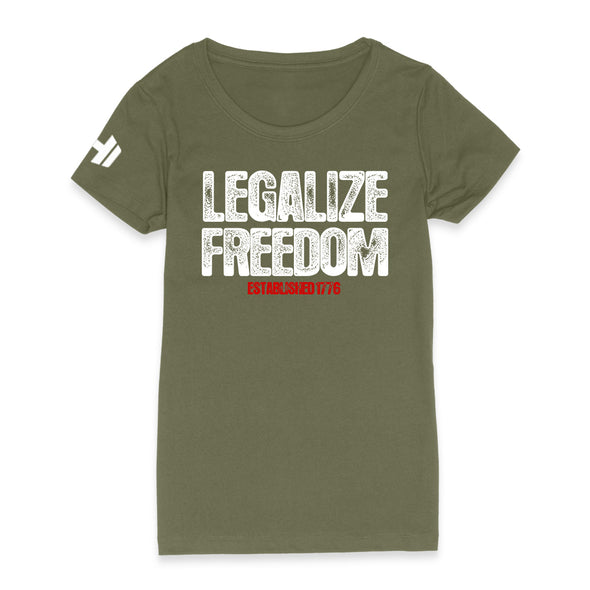 Legalize Freedom Womens Apparel