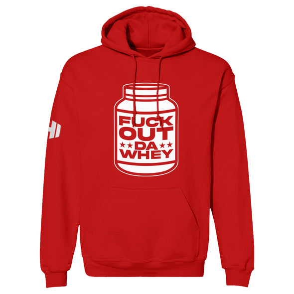 Bottle Of Fuk Out Da Whey Hoodie