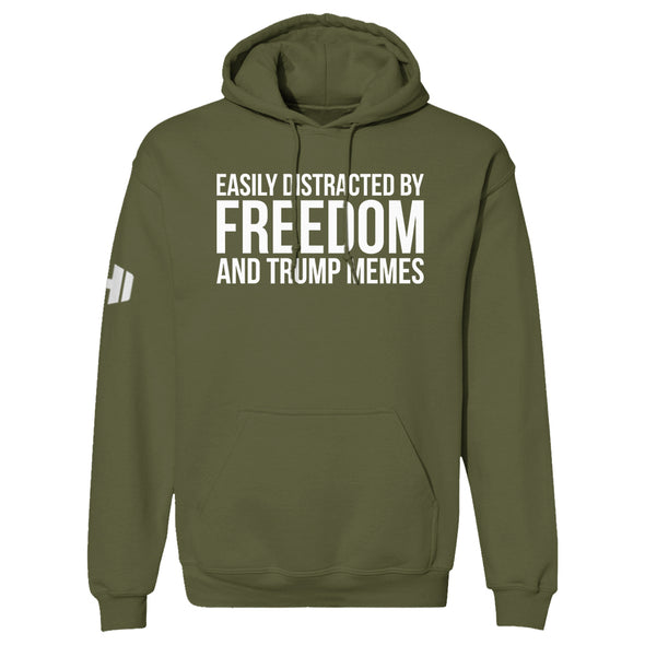Easily Distracted By Freedom Hoodie
