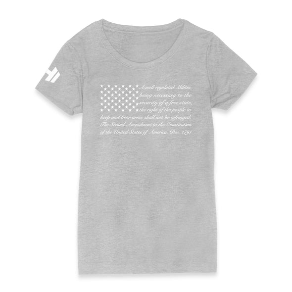 2nd Amendment Flag 2 Womens Apparel