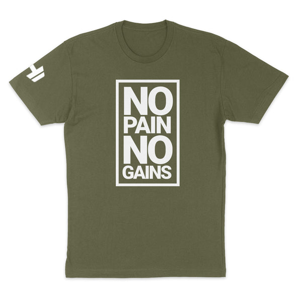 No Pain No Gains Mens Apparel