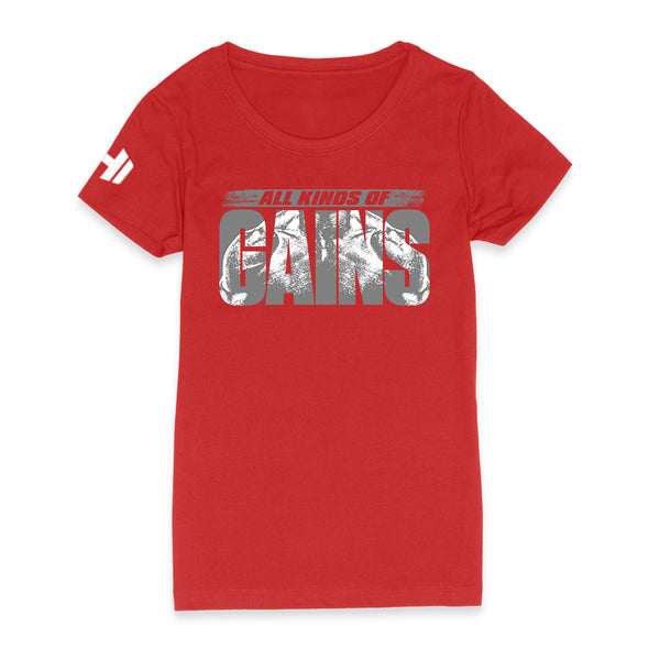 All Kinds Of Gains Grey Womens Apparel