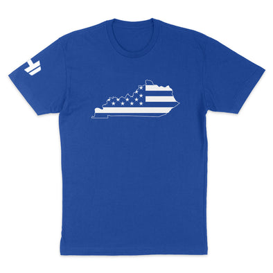Kentucky USA Flag Mens Apparel