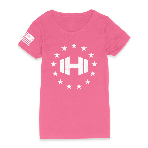 Dumbell Logo 13 Stars Womens Apparel