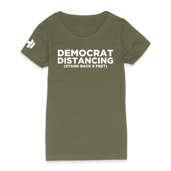 Democrat Distancing Womens Apparel