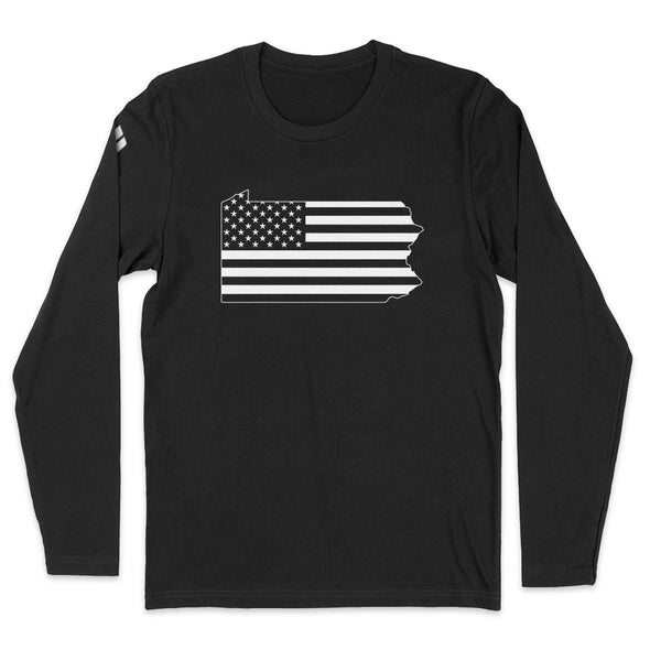 Pennsylvania USA Flag Mens Apparel